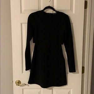 Zara Dresses - Zara Black Cutout Dress